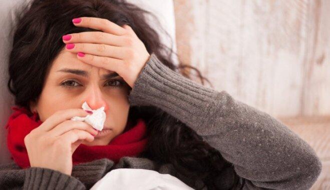Tuvākajās nedēļās varētu pieaugt gripas aktivitāte. Ieteikumi sevis pasargāšanai