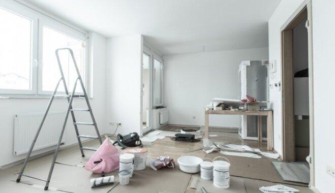 Desmit izplatītākās kļūdas, veicot iekštelpu remontu