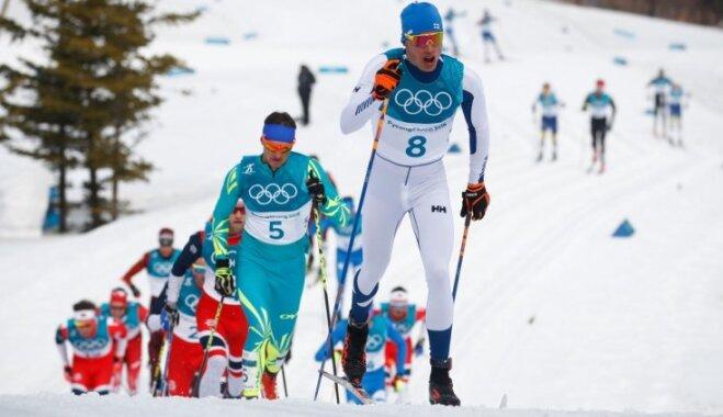 XXIII Ziemas olimpisko spēļu rezultāti distanču slēpošanā 50 km distancē (24.02.2018.)