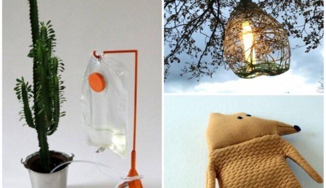 Augu laistītājs sliņķiem un krāsnī sildāmas lelles – latviešu pērles dizaina konkursā