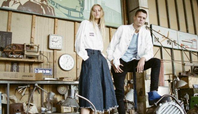 Nedarīt pēc parauga. 'One Wolf' dizainere Agnese Narņicka par apģērbiem ar pievienoto vērtību