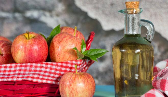 Ābolu etiķis virtuvē un kulinārijā