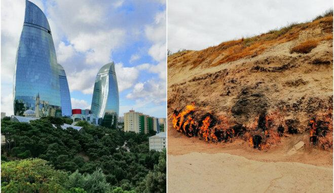 Spožuma un liesmu pilsēta – Azerbaidžānas galvaspilsēta Baku