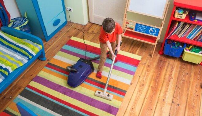 Kā mudināt bērnus tīrīt savu istabu
