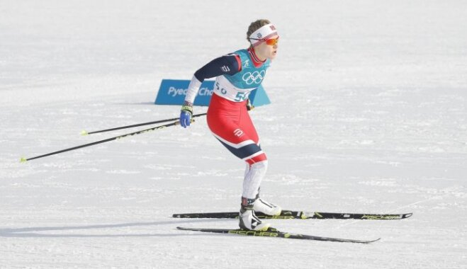 XXIII Ziemas olimpisko spēļu rezultāti distanču slēpošanā 10 km distancē (15.02.2018.)