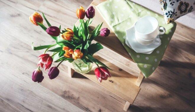 Ielaid telpās pavasari – idejas, kā mainīt noskaņu interjerā