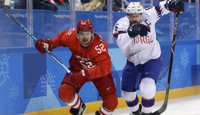 Российские хоккеисты разгромили норвежцев и впервые за 12 лет вышли в полуфинал Игр