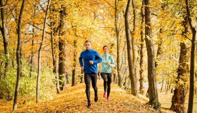 Skriešana rudenī – kā sagatavoties, lai nenodarītu sev pāri