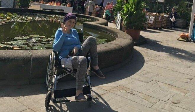 Odrija, kas cīnās ar neiroblastomu, devusies uz Spāniju