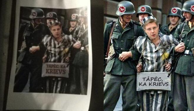 Kur aug kājas 'nacistiem, kas notvēra Ušakovu'