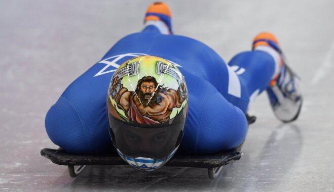 Организаторы Олимпиады запретили скелетонисту шлем с сюжетом из Библии