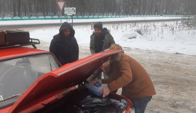 Ar 'zapiņiem' uz Baltkrieviju: latviešu piedzīvojumi kaimiņvalstī
