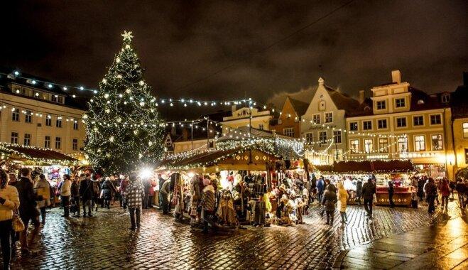 ФОТО: Старый Таллинн превратился в рождественскую сказку