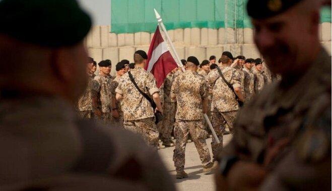 ВИДЕО: Латвийские военные в Афганистане спели рождественскую песню