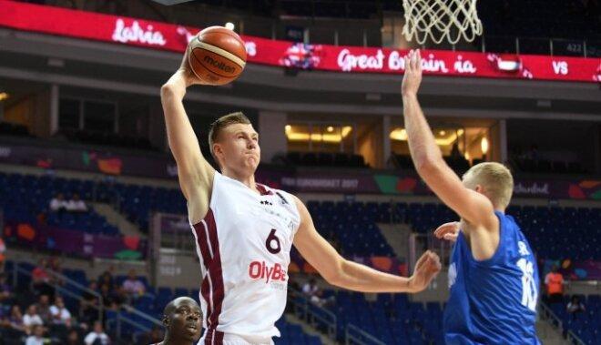 Latvija pēc liela pārsvara izlaišanas nosargā uzvaru pār Lielbritāniju