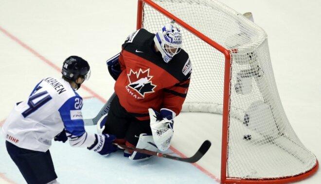 Финляндия жестко разобралась с Канадой, Дания вновь опередила Латвию