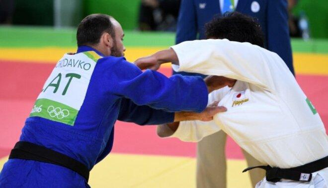 Džudistam Borodavko olimpiskās spēles noslēdzas jau pirmajā cīņā