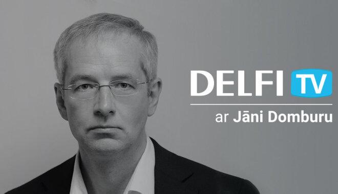 DELFI запускает серию предвыборных дискуссий с Янисом Домбурсом