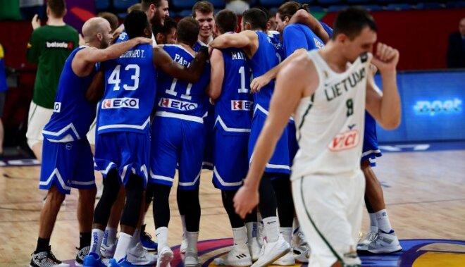 Греческий барьер. Сборная Литвы не вышла в четвертьфинал Евробаскета