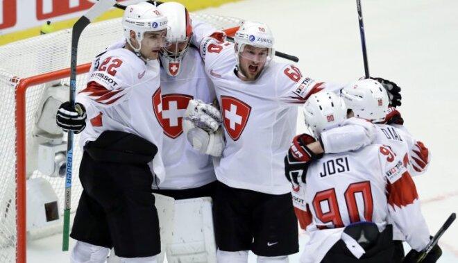 Швейцарцы в четвертьфинале чемпионата мира сенсационно выбили финнов