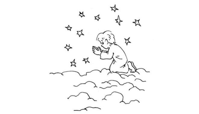 Grāmatā ievākota saruna ar bērniem, kuri atgriezās Debesīs