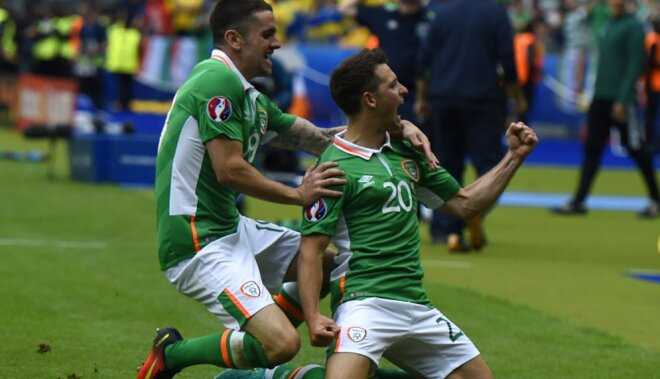 Ireland Wesley Hoolahan Ireland and Robert Brady