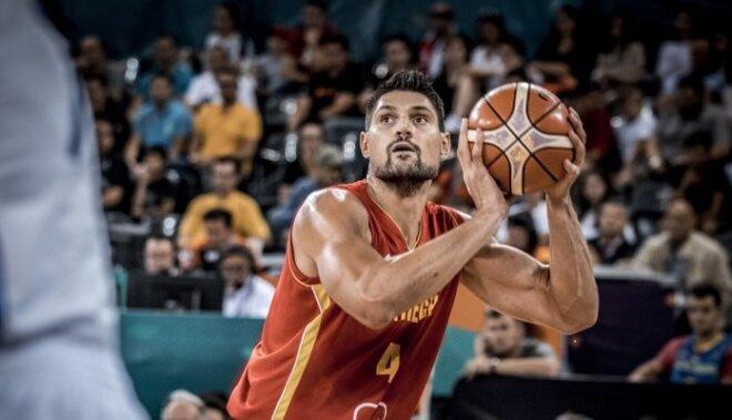 Melnkalnes izlases zvaigzne Vučevičs: Latvija spēlē pret mums ir favorīte