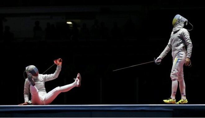 Riodežaneiro vasaras olimpisko spēļu rezultāti paukošanā sievietēm (13.08.2016)