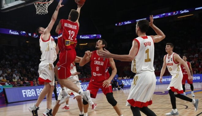 Повторить триумф: смотрите полуфинал Евробаскета между сборными РФ иСербии