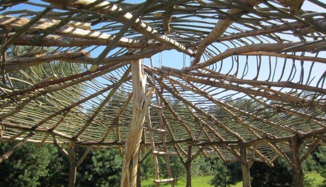 Pašbūvēta malkas māja dziļi Latgalē – četri mēneši, nekādu kredītu un līdzsvars dabā