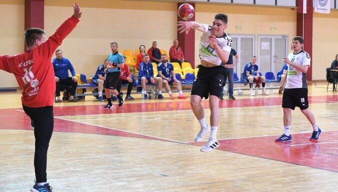 Noskaidroti pirmie Latvijas kausa pusfinālisti handbolā