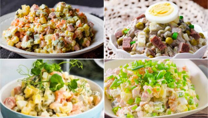 Rasols smaržo, svētki būs! 16 recepšu versijas par leģendāro salātu tēmu
