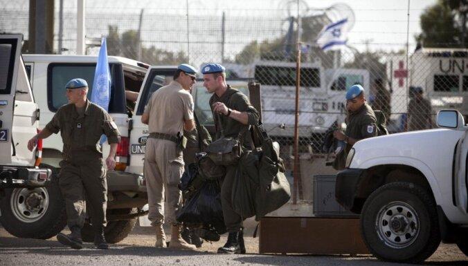 ANO mudina Austriju paturēt karavīrus Golānas augstienēs līdz jūlija beigām