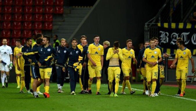 ВИДЕО: БАТЭ без травмированного Дубры пробился в 3-й раунд Лиги чемпионов