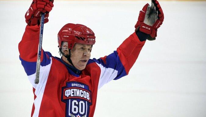 Фетисов предложил Путину и Ди Каприо сыграть в хоккей на Северном полюсе