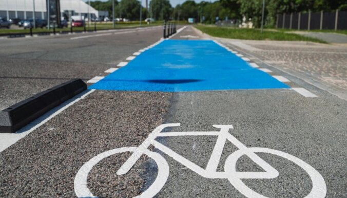 В субботу начнут ликвидировать создававшие пробки велополосы на улице Дунтес