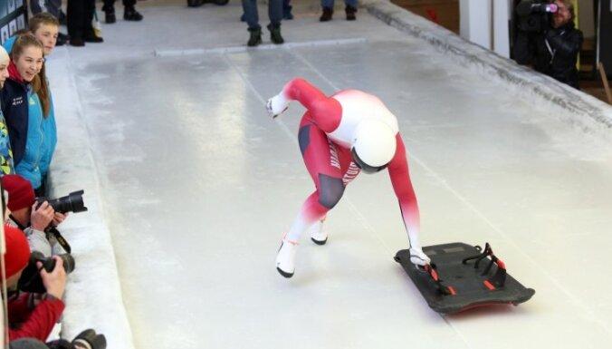 Skeletonists Netlaus uzvar Eiropas kausa sacensībās Siguldā