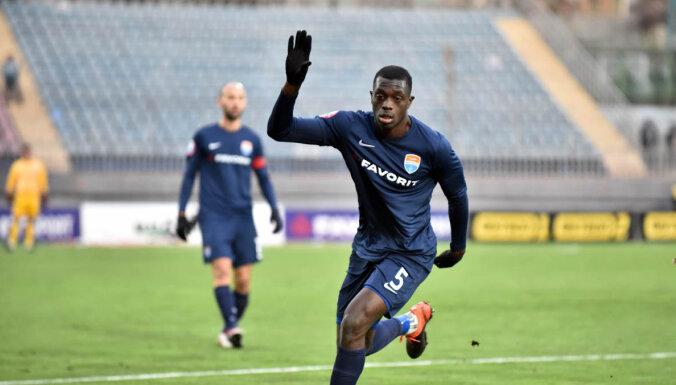 'Valmiera' FC rindas pastiprinājis Kamerūnas izlases aizsargs