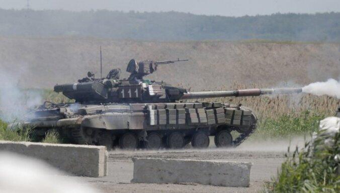 Sācies tanku uzbrukums Slovjanskai