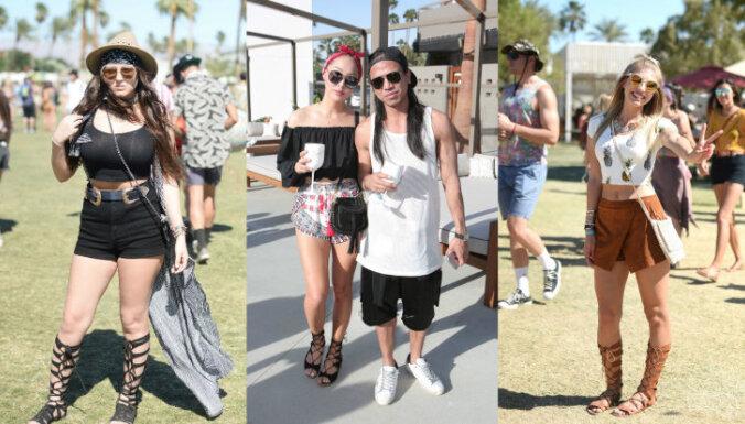 Foto: 'Coachella' apmeklētāji diktē šīs vasaras festivālu modi