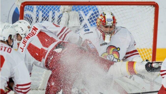 Kalniņš palīdz 'Jokerit' tikt pie uzvaras Minskā
