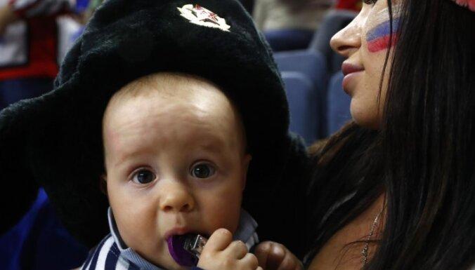 russian fans baby