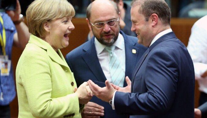 Lēmumi par ES augstākajiem amatiem, domājams, netiks pieņemti trešdien, atzīst Merkele