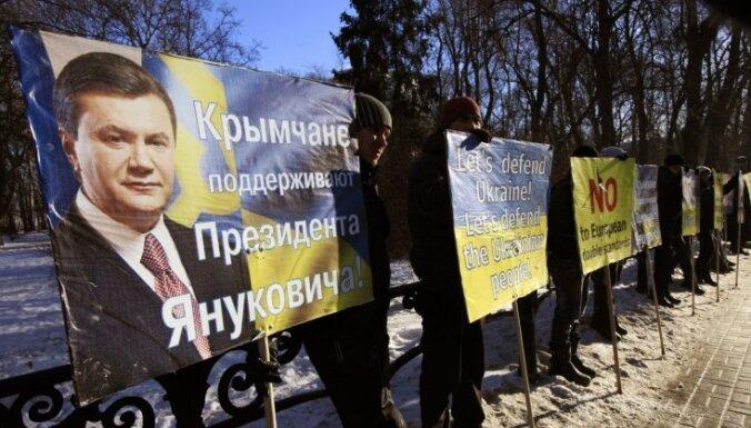 Портал: милиция и казаки отбили попытку татар захватить здание ВС Крыма
