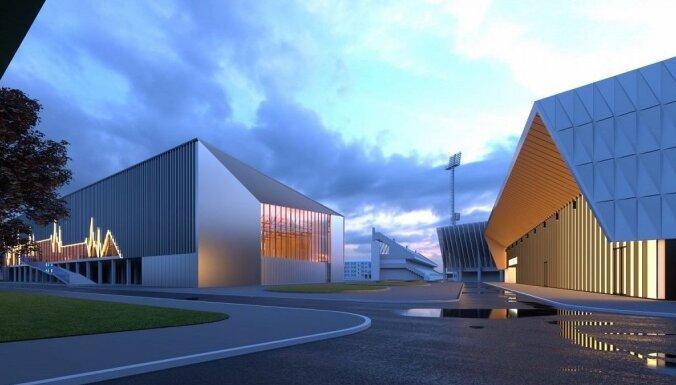 'Daugavas stadiona' vieglatlētikas manēžas būvniecība jāpabeidz pēc 19 mēnēšiem