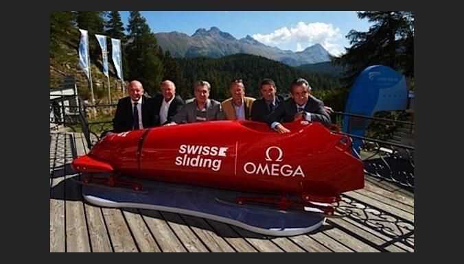 Šveicieši izgatavo vienvietīgas bobsleja kamanas