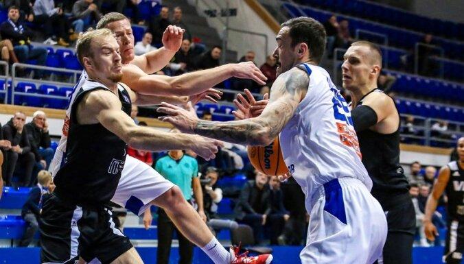 'VEF Rīga' dramatiski zaudē FIBA Čempionu līgas spēlē Melnkalnē