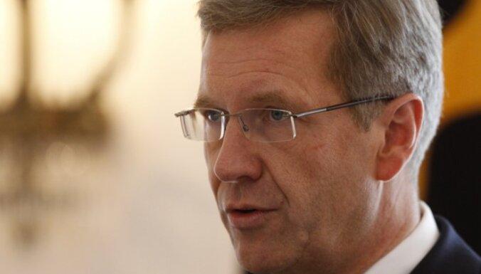 Vācijas prezidents atkāpies no amata