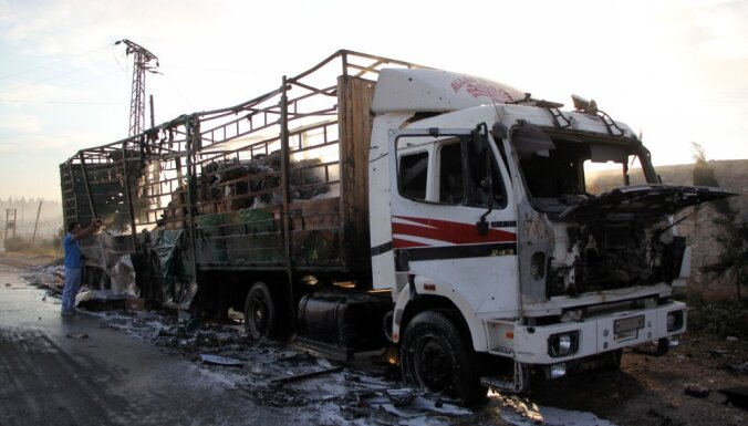 Атака на гуманитарную колонну ООН в Сирии: что известно на данный момент?