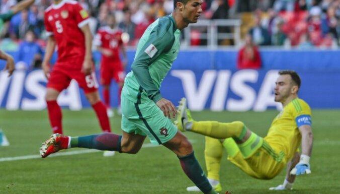 Portugal Cristiano Ronaldo, Russia Igor Akinfejev